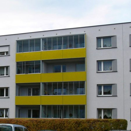 Stahl-Balkonsystem saniert von Firma Linzner