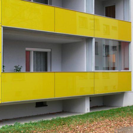 Stahl-Balkonsystem-Sanierung von Firma Linzner