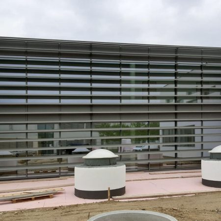 Solarwings Lamellensystem, SWEL Profillamellen fix aus 400 mm breiten Ellipsen-Lamellen